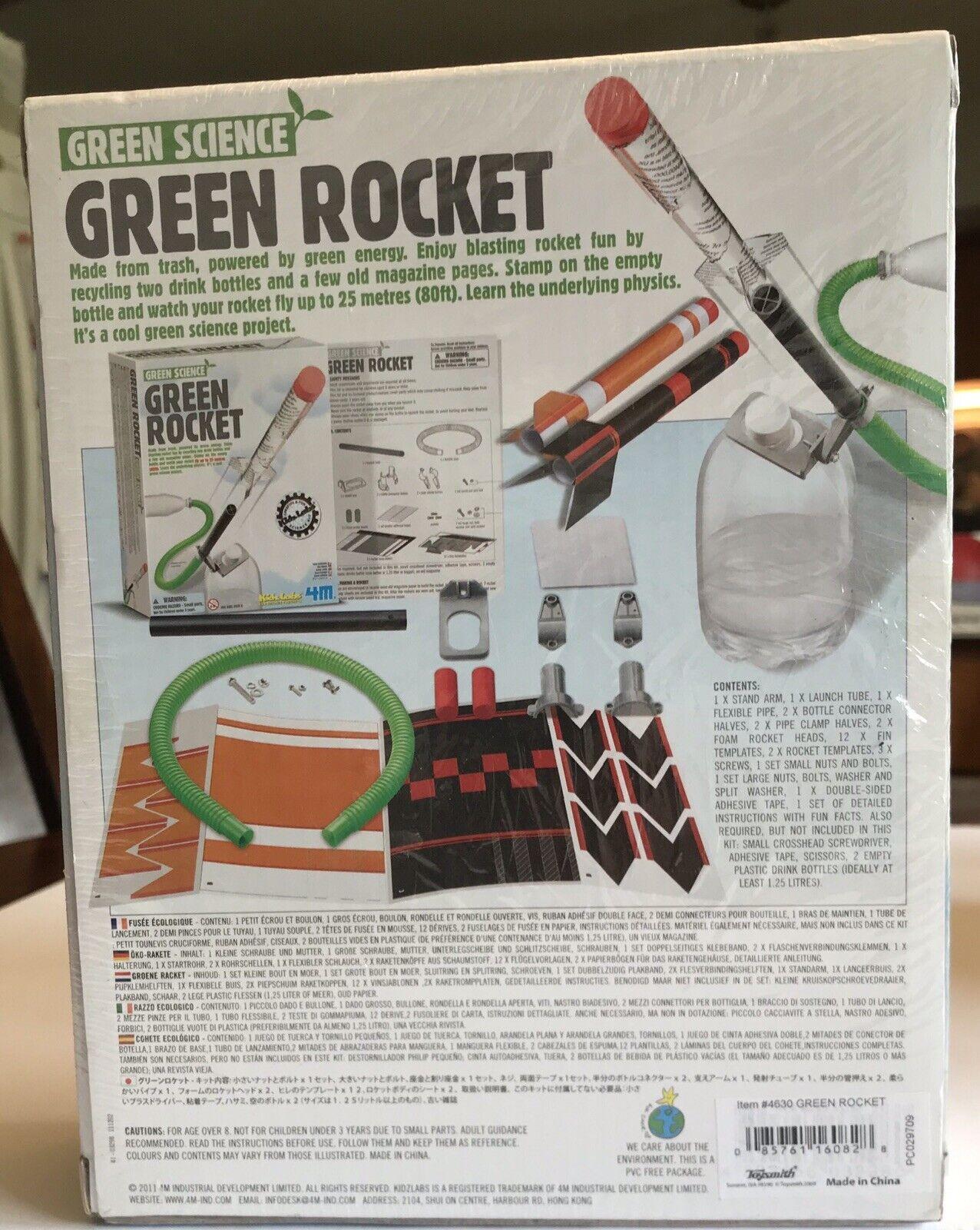 Green Science Green Rocket 4M 160828