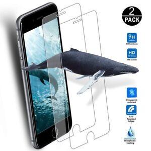 2x-Apple-iPhone-6-iPhone-6S-Hart-Glas-folie-9H-Echt-Glas-Schutzglas-Schutzfolie