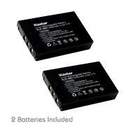 2x Kastar Battery For Kodak Klic-5001 Easyshare Dx6490 Dx7440 Dx7590 Dx7630 P712