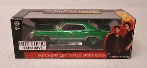Rare-Greenlight-1967-Chevrolet-Impala-Sport-Sedan-Hot-Topic-Green-Machine-Chase