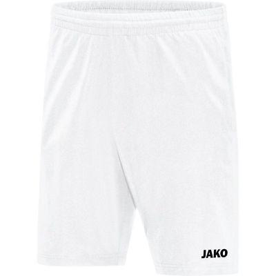 2019 Nuovo Stile Jako Calcio Pantaloncini Uomo Profi Breve Pantaloni Allenamento Bianco-