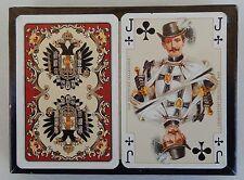 2 Decks (One Sealed) Piatnik Kaiser Jubilaum Imperial Playing Cards