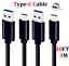 miniature 16 - OEM-Samsung-Galaxy-S10-S8-S9-Plus-Fast-Wall-Charger-3-6-10-FT-USB-C-Type-C-Cable