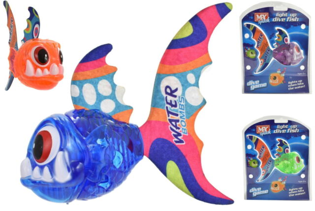 NEW Light Up Dive Fish Game | Swimming Pool Toys Diving Sticks | ihartTOYS