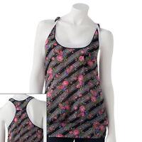 Weavers Girl Mock-layer Floral Tank - Juniors