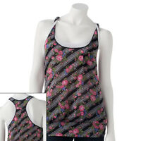 Weavers Girl Mock-layer Floral Tank - Juniors