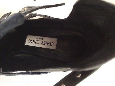Details zu jimmy choo boots, Gr 39, schwarz mit Nieten