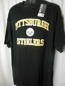Image is loading Pittsburg-Steelers-Mens-Majestic-Big-amp-Tall-Shirt ab96b82a6