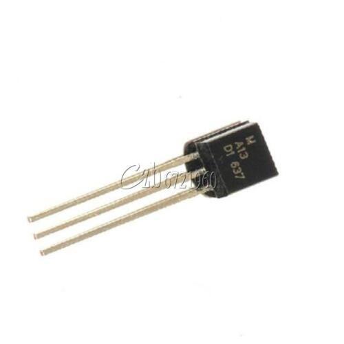 10PCS MPSA13 NPN 0.5A//30V TO-92 Darlington Transistor