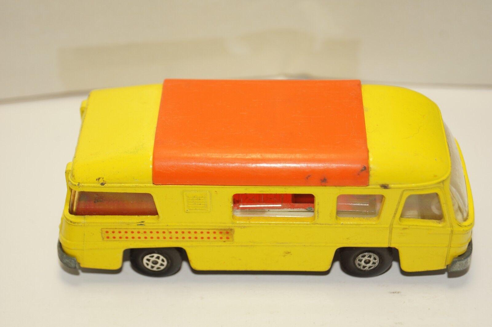 ORIGINAL Matchbox Matchbox Matchbox - Speed Kings - K-27 Camping Cruiser - giallo - arancia Roof 49ed26