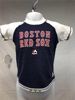 Weitere Ballsportarten Fanartikel Sparsam New-minor Fehler Boston Red Sox Kinder Size 6/9 Months Blau/weißes Creeper