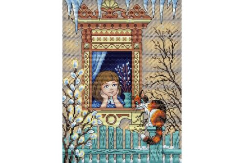 Cross Stitch Kit Fife minutes before spring M-238