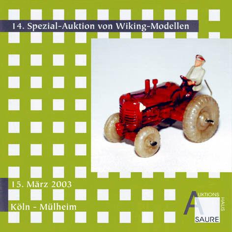 Wiking-subasta Catálogo de subasta 14