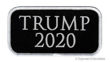 Donald Trump 2020 Embroidered Patch Iron-on Politics Election Republican Slogan
