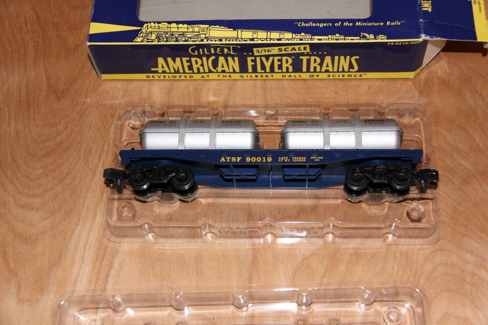 American flygagaer Santa Fe Flat bil med Jet Engine Containers - 6 -48527