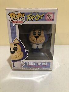 FUNKO POP Top Cat Benny The Ball Vinyl Hanna Barbera NEU 280