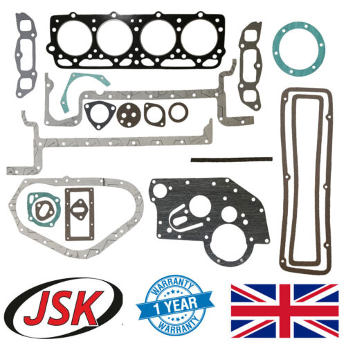 Full Gasket Set w Cylinder Head Gasket Fordson Major Super Major & Power Major