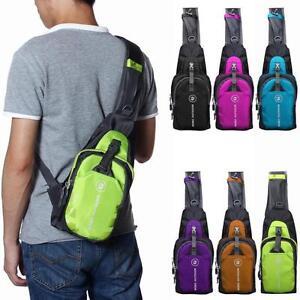 Unisex Boys Messenger Mens Shoulder Bag Sport Gym Bags Student ...