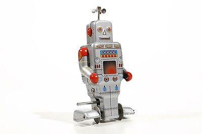 Blechspielzeug Blechspielzeug Roboter Mit Raupenfüßen 13,5 Cm °° Tin Toy °° Hilfreich