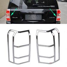 Fit For 07-17 Jeep Patriot Chrome Rear Tail Light Lamp Cover Trim Bezel Garnish