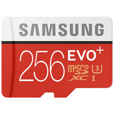 Samsung EVO Plus 256GB UHS-I MicroSDXC Micro SD Memory Card 256GB Class 10 - VG
