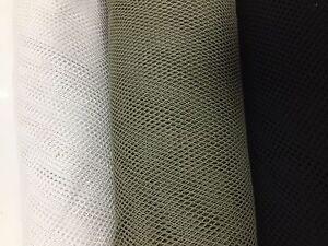 Fish Net Fabric 5 Cols Airtex Stretch Dress Plain Material