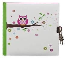 Tagebuch Eule 16,5x16,5cm 96 weiße Seiten von Goldbuch NEU Geschenk