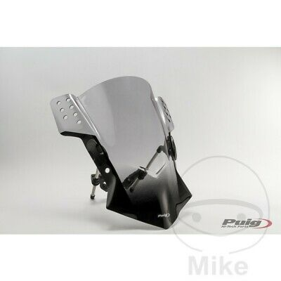 Puig Smoke Grey Rafale Screen / Windshield Yamaha Sr 400 2016 Koop One Give One