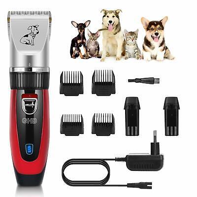 senza fili e ricaricabile GHB Rasoio elettrico per animali domestici