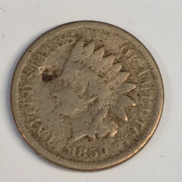 1859 Indian Cent - One Year Copper Nickel Type- High Quality Scans #C562