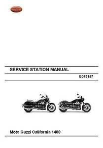 moto guzzi workshop service manual california 1400 touring ebay rh m ebay ie moto guzzi california 1400 service manual moto guzzi california 1400 service manual