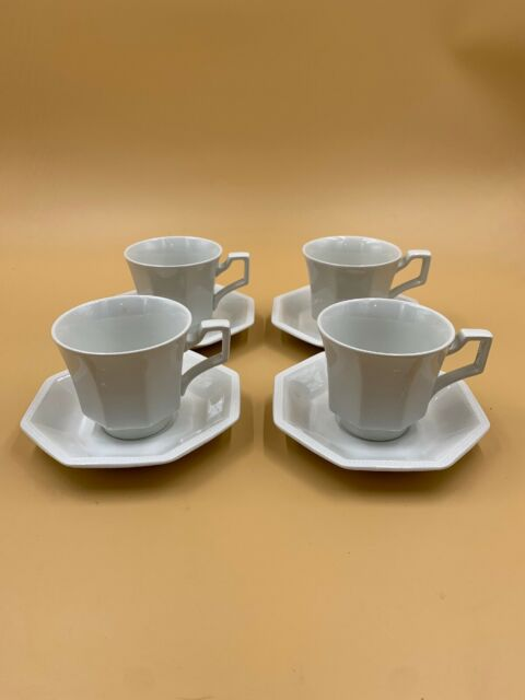 Johnson Brothers//Bros,HERITAGE white,cup//saucer,1 of 8 available