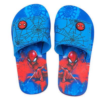 BOYS KIDS DISNEY Character Avengers//Spiderman//Mickey FLIP FLOPS SHOES SANDALS
