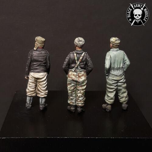 German panzer crew 1//72 resin Black Army Modells