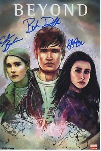 Details about BEYOND CAST SIGNED PHOTO! 8x12! BURKELY DUFFIELD DILAN GWYN  AUTOGRAPH HOLDEN