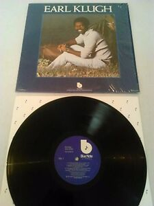 EARL KLUGH - S / T LP EX!!! IN SHRINK / ORIGINAL U.S BLUE NOTE BN-LA596-G