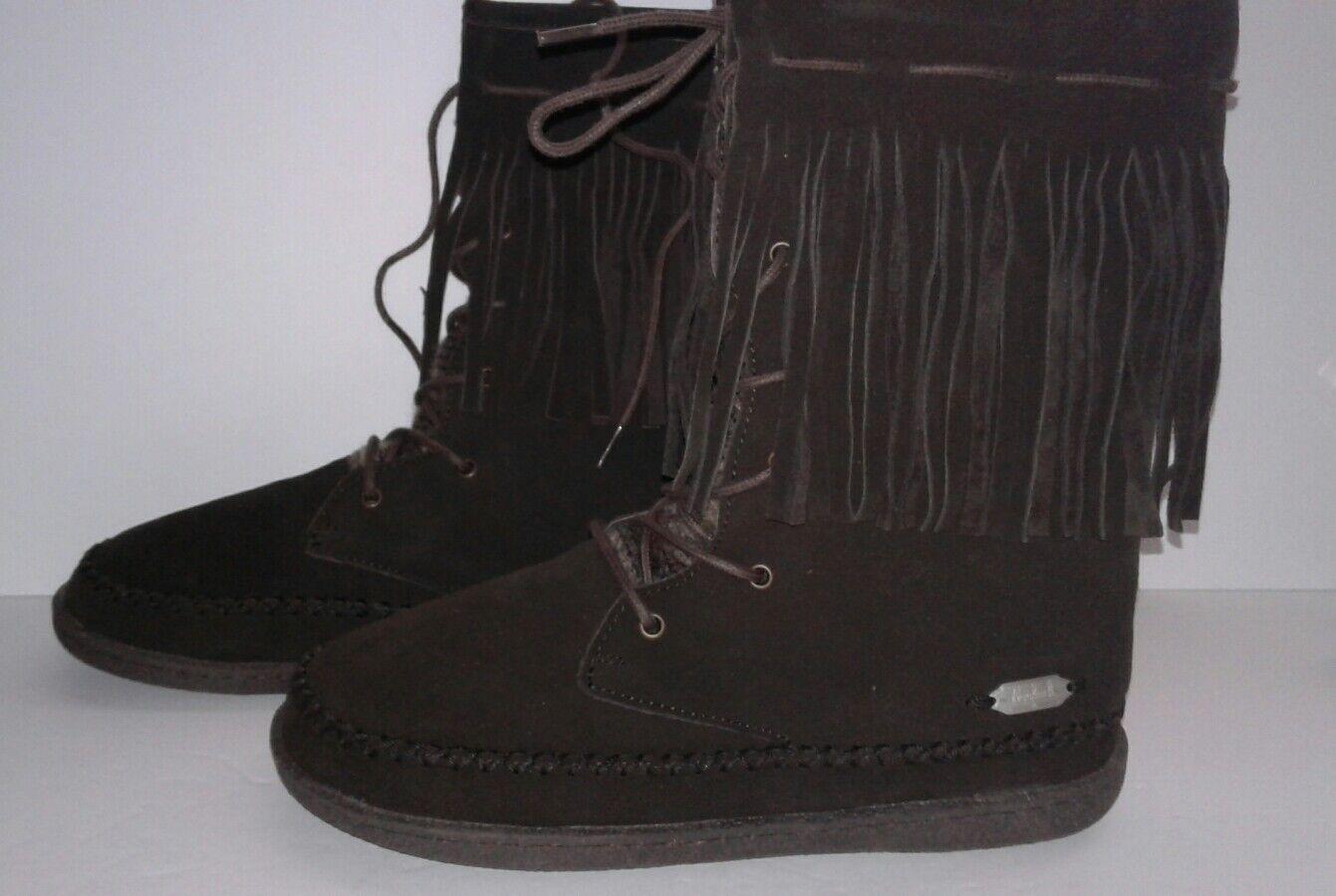 Woolrich Womens Pocono Creek Brown Boots shoes 10 Medium (B,M)