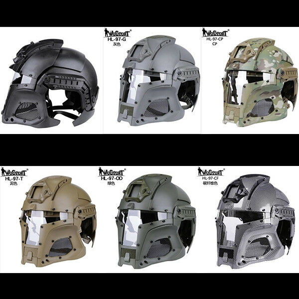 Tactical Airsoft  Paintball Ballistic Helmet Side Rail NVG Shroud Transfer Base