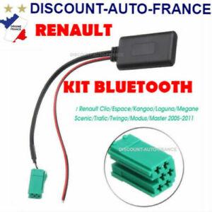 ADAPTATEUR BLUETOOTH AUXILIAIRE RENAULT AUTORADIO  SCENIC 2 MEGANE 2