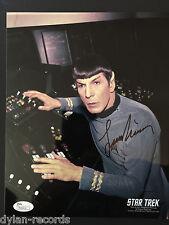 Leonard Nimoy Singed Autogragh JSA COA 8 x 10 photo Star Trek Spock