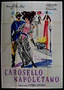 M175 Manifesto 4F Karussel Napoletano Sophia Loren Giannini Ballard Brini Art