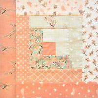 Jordan Fabrics Moda Baby Quilt Pre-cut Log Cabin Quilt Kit - Lullaby Baby Girl
