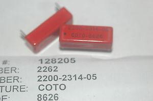 COTO-2200-2314-05-Reed-Relay-HTS-8536410060-ECCN-EAR99-New-Lot-Quantity-2