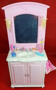 Barbie-Vintage-Sink-Unit-Dreamhouse-Dolls-House-Doll-Furniture