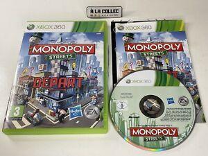 Monopoly Streets - Jeu XBOX 360 (FR) - PAL - Complet