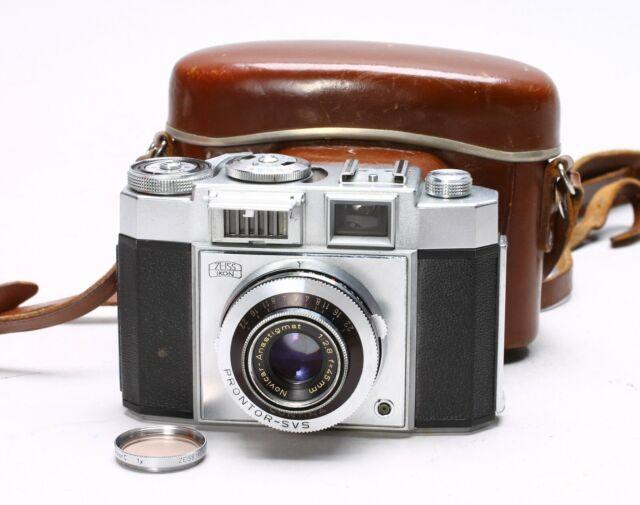 Zeiss Ikon Contina Prontor-Svs With 1:2.8 F-45Mm Novicar Anastigmat Lens