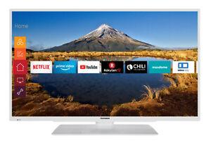 Telefunken XF43G511-W LED Fernseher 43 Zoll Full HD Triple Tuner Smart TV WLAN