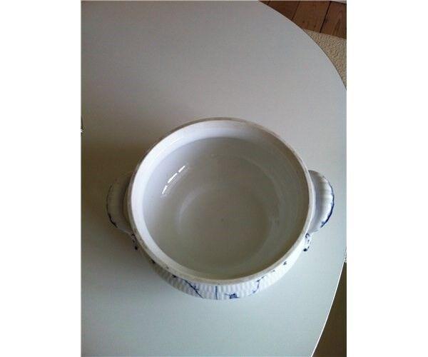 Porcelæn, Terrin, lågfad