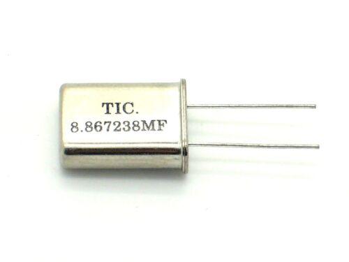 MHz, quartz, schwingquarz, bouge, oscillateur 1 x tic quartz oscillateur 8.867238mf q4