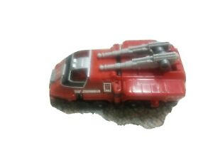 Power Rangers Red #1 Fire Truck Turbo Megazord Deluxe RESCUE Vehicle 1997